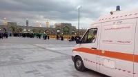 همزمان با تاسوعا و عاشورای حسینی؛ استقرار آمبولانس های اورژانس 115 در مسیر های منتهی به حرم مطهر رضوی